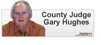 County Judge Gary Hughes